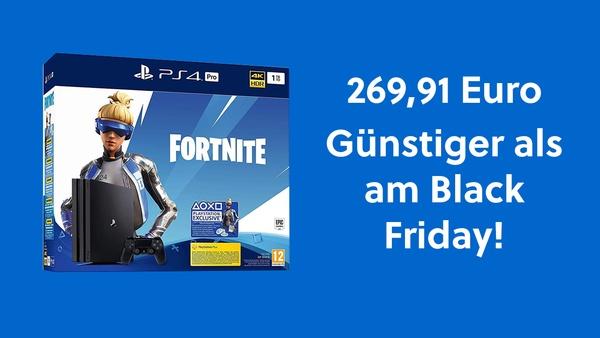 Günstiger als Black Friday: PS 4 Pro im Fortnite Bundle für 269,91 Euro