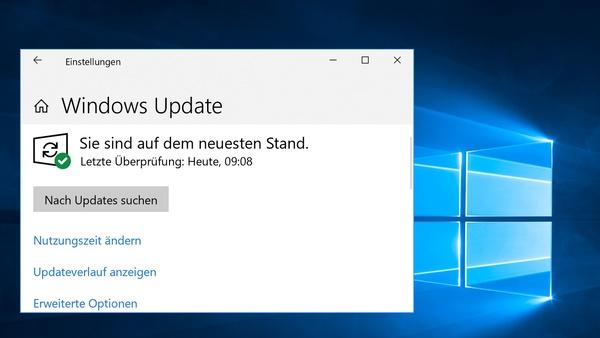 Windows 10 Version 1909 verfügbar - aber nur per Update-Suche