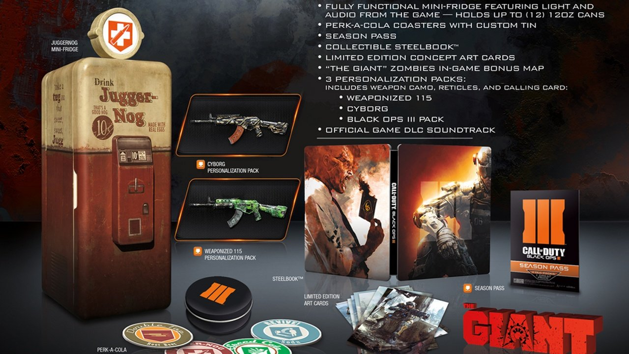 Kleiner Kühlschrank Real : Call of duty black ops kühlschrank in der collector s edition