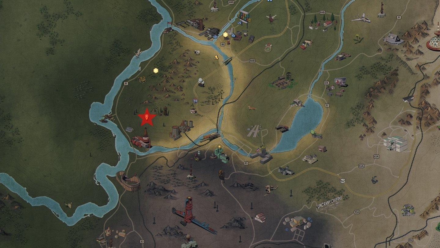 Fallout 76 Karte Deutsch.Fallout 76 Waldschatzkarten Die Fundorte Aller Schatze
