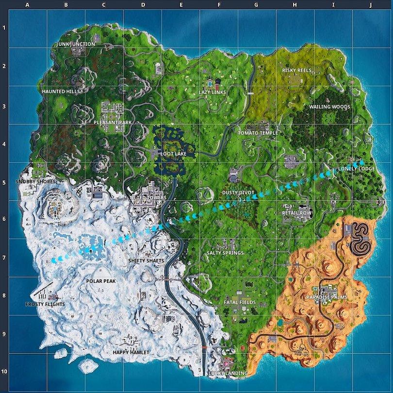 Fortnite Season 7 Alles Was Wir Bisher Zu Map Und Skins Wissen