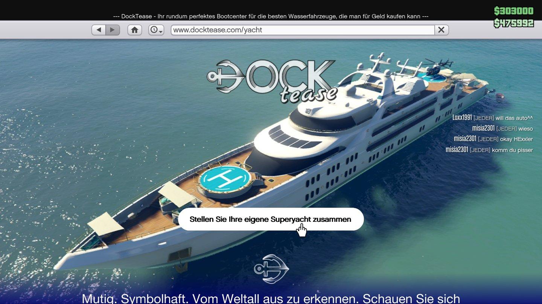 Superyachten kaufen  GTA 5 - GTA Online Yacht-Update: Preise und Ausstattungen der ...