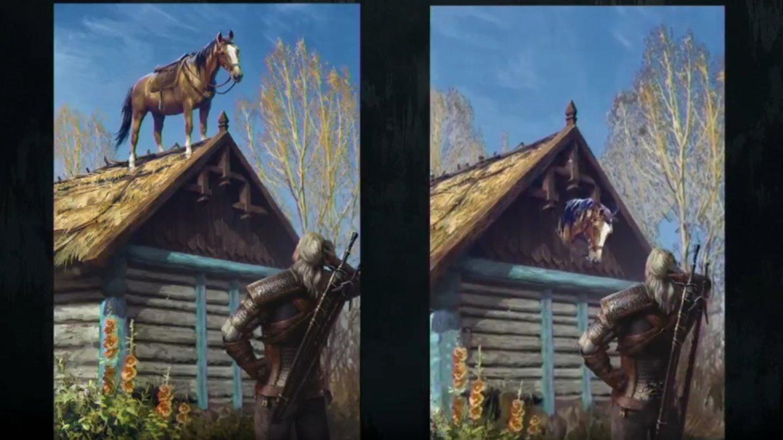 The Witcher Karte.Gwent Geralts Pferd Plotze Erhalt Eine Animierte Glitch Karte