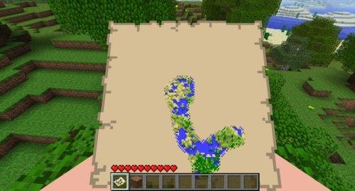 Minecraft Karte.Minecraft Erste Infos Zum Patch 1 6 Und Dem Karten Feature