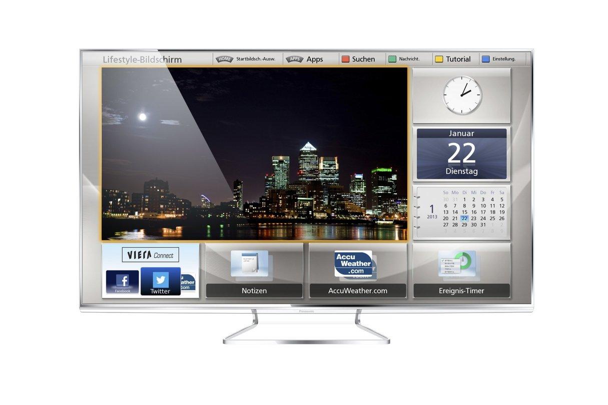 Neue Panasonic Viera Fernseher Bessere Vernetzung Und Neue Smarttv