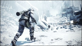 Battlefield: Bad Company 2Screenshots der Multiplayer-Karte »Cold War« aus dem VIP Map-Pack 7 für Bad Company 2.