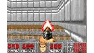 In Doom, Its fun to shoot at nothing