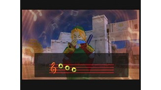 The Ocarina has magical powers that are released by playing tunes.