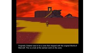 <b>World of WarCraft</b><br/>Screenshots aus der frühen Entwicklungsphase von World of WarCraft.
