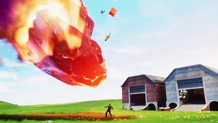 Fortnite Season 10: Im Zeitreise-Trailer explodiert der Zero Point