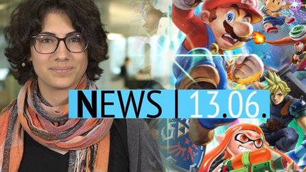 Highlights der Nintendo Direct auf der E3 - News-Video: Super Smash Bros hat 64 spielbare Charaktere - For Honor kurzzeitig kostenlos