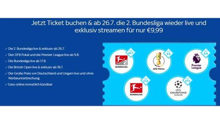 Sky Supersport Ticket – Bundesliga für 9,99 € streamen [Anzeige]