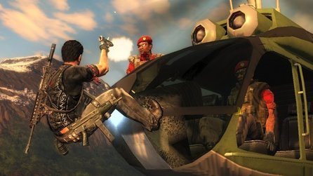 Just Cause 2 - Clip: Action im Heli