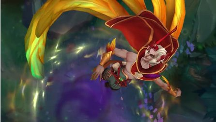League of Legends - Gameplay-Szenen von Rakan im Champion Spotlight