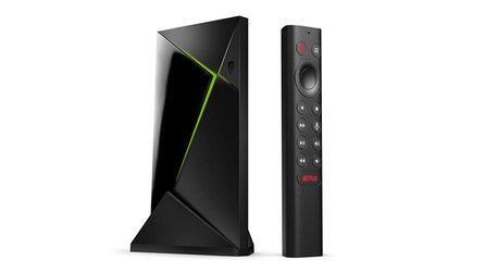 Nvidia Shield TV Pro: Schnellere Streaming Box und neuer Shield-Stick in Röhrenform
