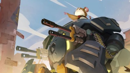 Overwatch - Story-Trailer: Held 28 ist ein hochintelligenter Hamster namens Wrecking Ball