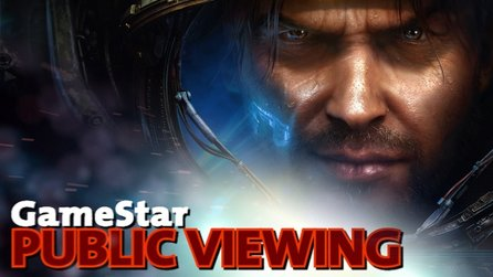 Public Viewing: StarCraft 2 - Teil 1 - Solo-Kampagne, Upgrades & Dialoge