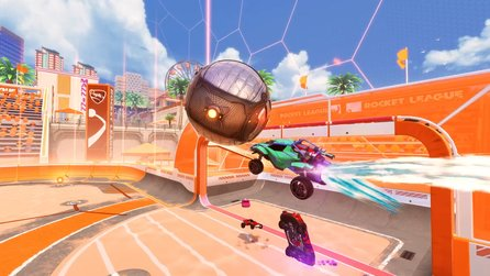 Rocket League - Trailer stellt Update Salty Shores mit neuer Arena vor