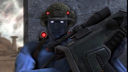 Rogue Trooper Redux - Gameplaytrailer mit Story, Upgradesystem und Koop-Modus