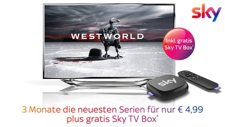 3 Monate Sky Entertainment Ticket für einmalig 4,99 Euro - Inklusive gratis Sky TV Box