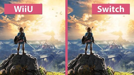 Zelda: Breath of the Wild - Wii U und Nintendo Switch im Grafik-Vergleich