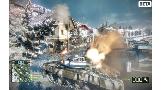 Battlefield: Bad Company 2 - PC-Beta im Bild