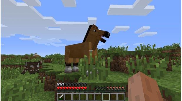 Minecraft Friendly Update Lässt PC Xbox Und Mobile Zusammen - Minecraft spielen pc