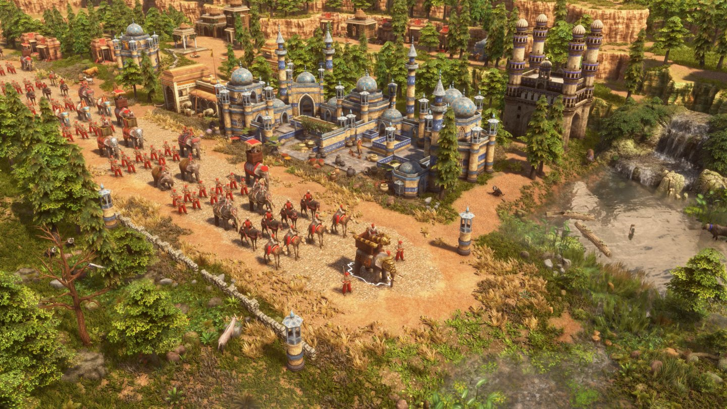 Age of Empires 3: Definitive Edition - Indien Parade