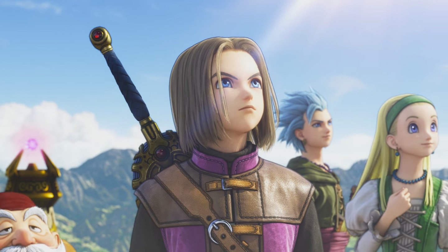 Dragon Quest 11 - Cast