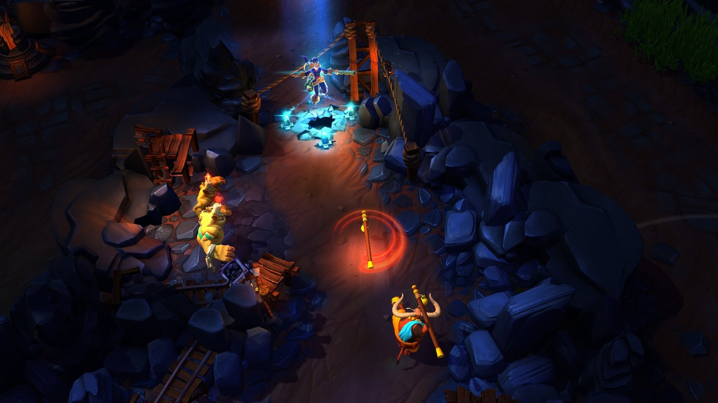 Strife - Screenshots zum Start der Closed Beta
