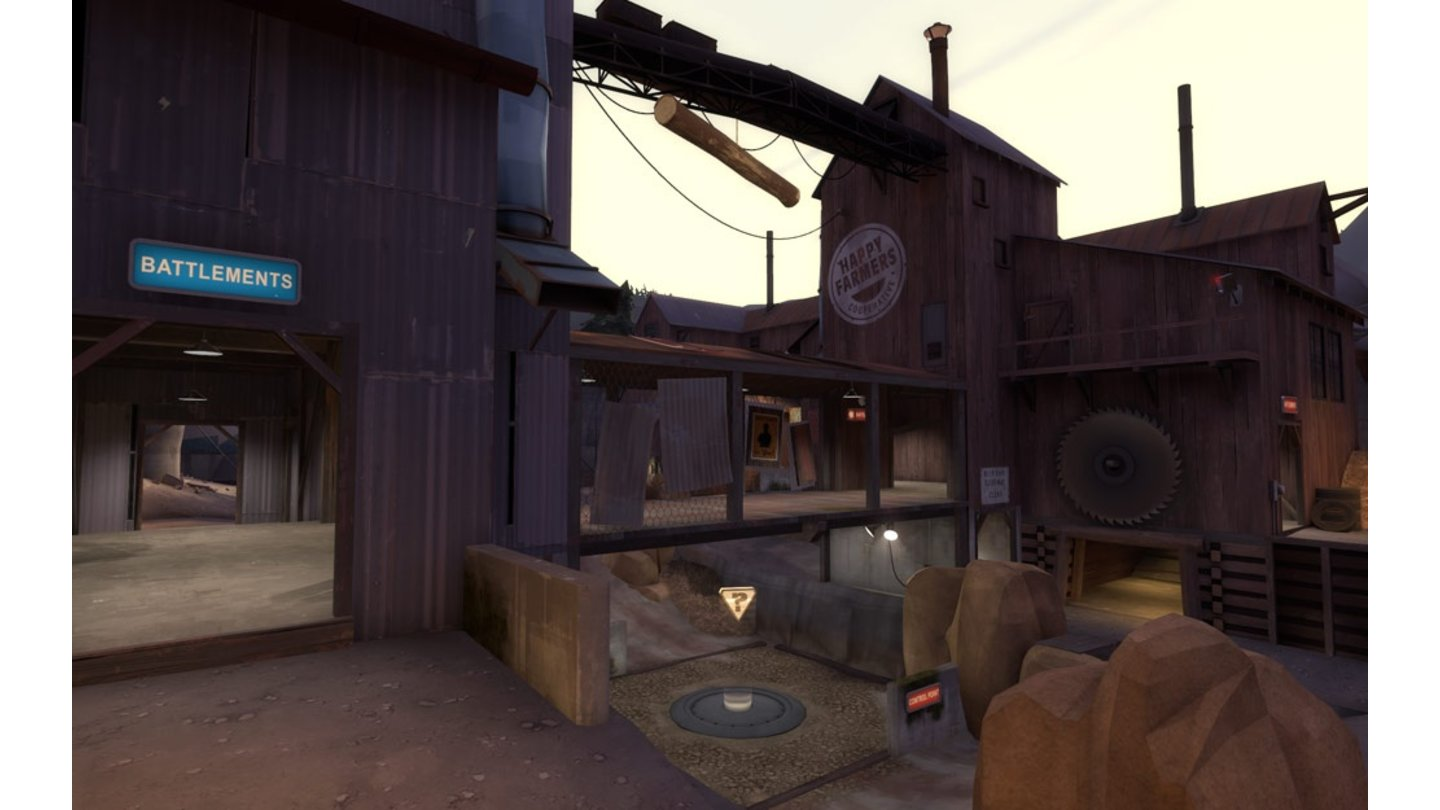 Team Fortress 2 - CP_Yukon