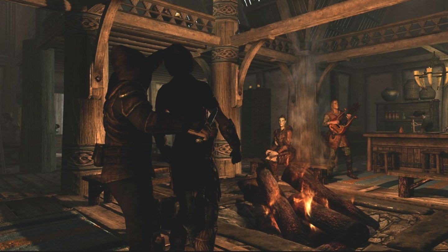 The Elder Scrolls 5: Skyrim - E3-Screenshots: Tavern Kill