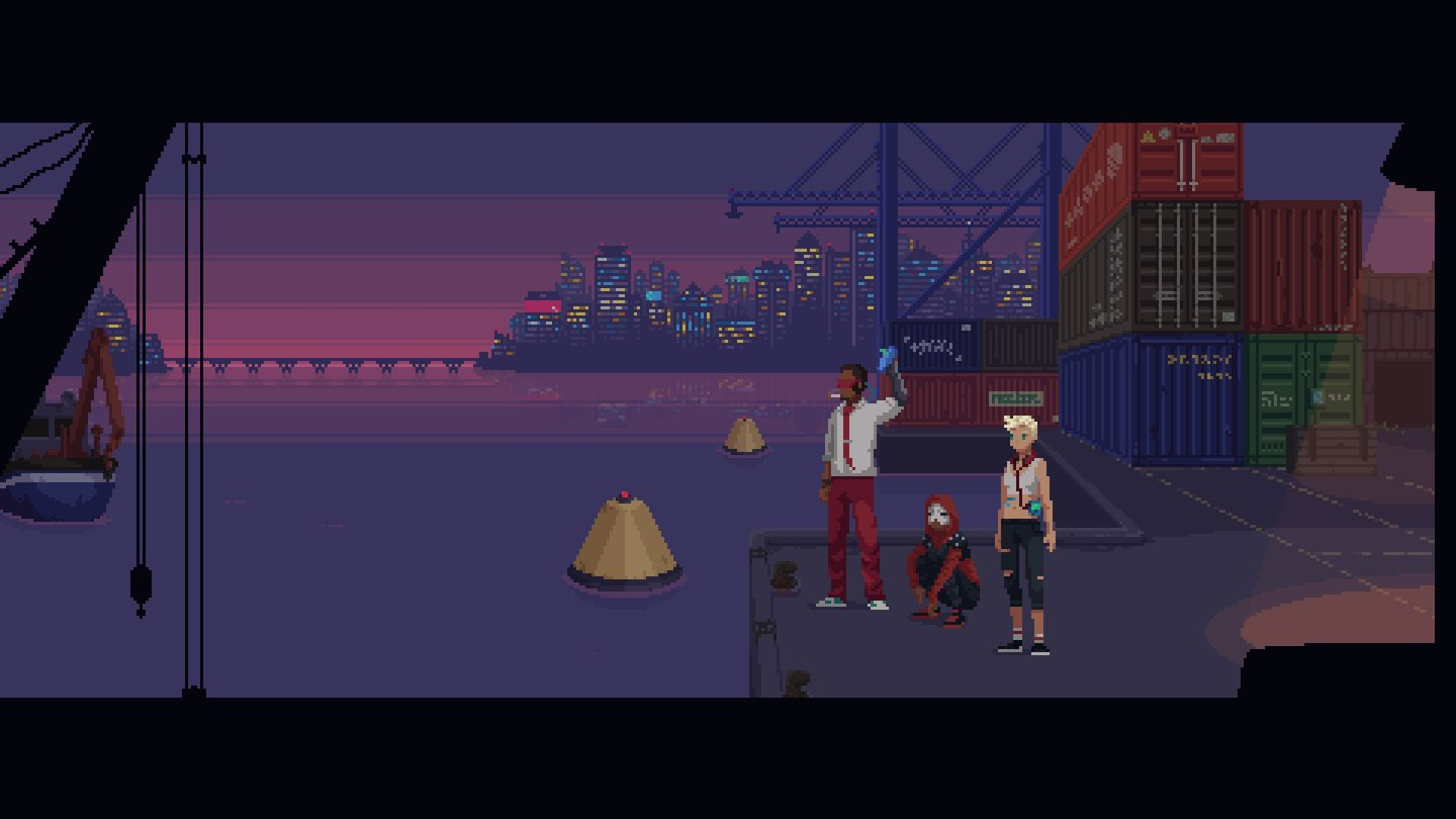 The Red Strings Club - Screenshots