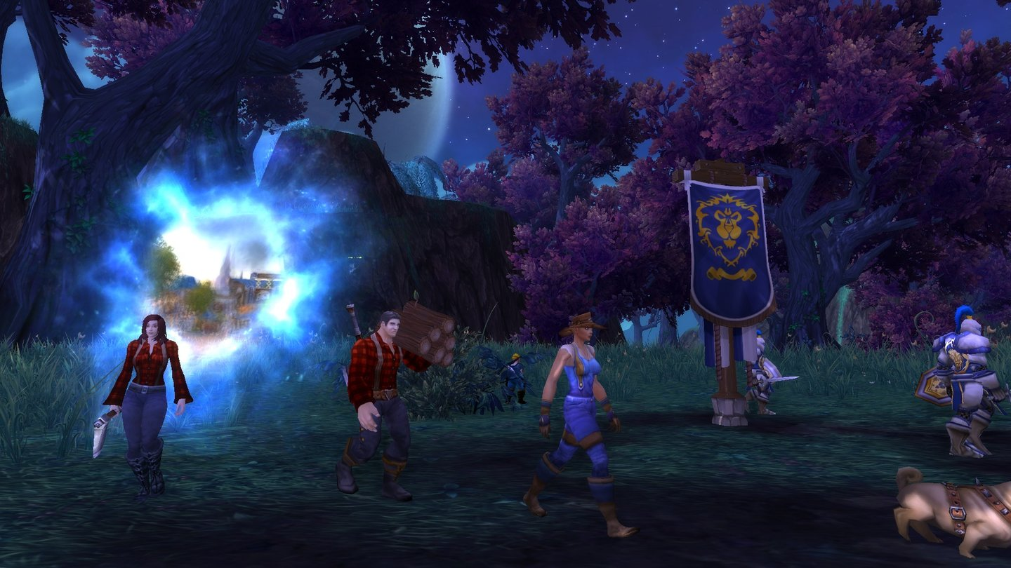 World of Warcraft: Warlords of DraenorAllianz-Garnisonen errichten wir im Schattenmondtal …