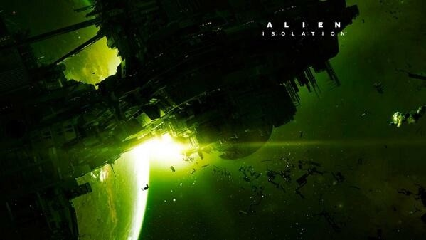 Ein angebliches Artwork zu Alien: Isolation.