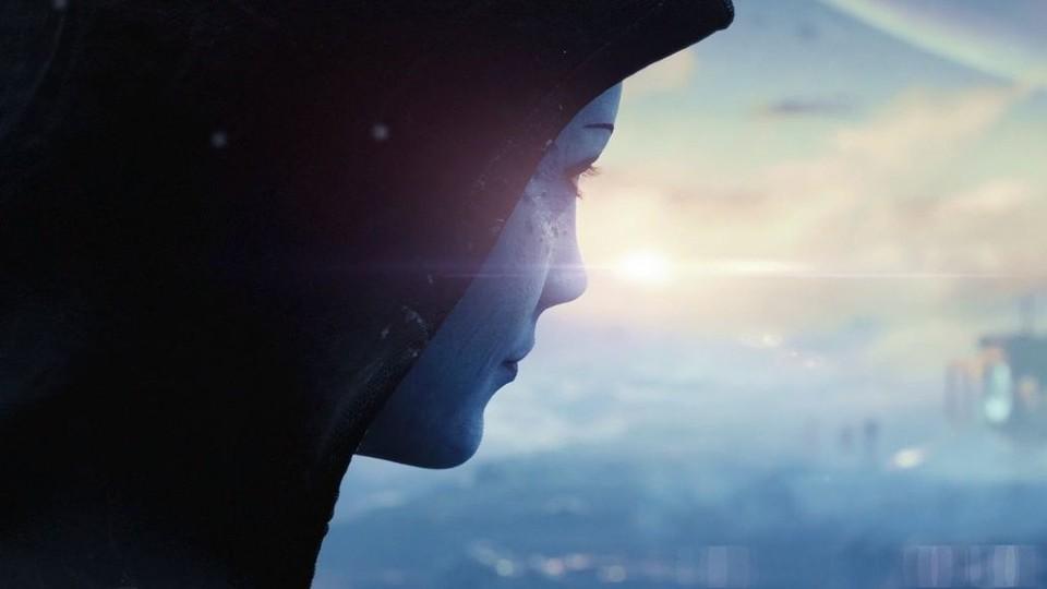 Liara wurde anscheinend etwas älter - die Falten auf ihren Augen waren in Mass Effect 3 nicht vorhanden.