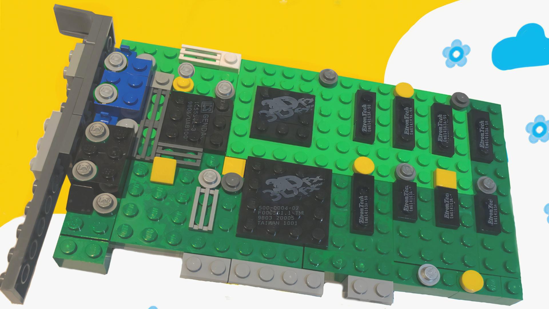 LEGO trifft Gaming-Grafikkarten – und das kann sogar nützlich sein!