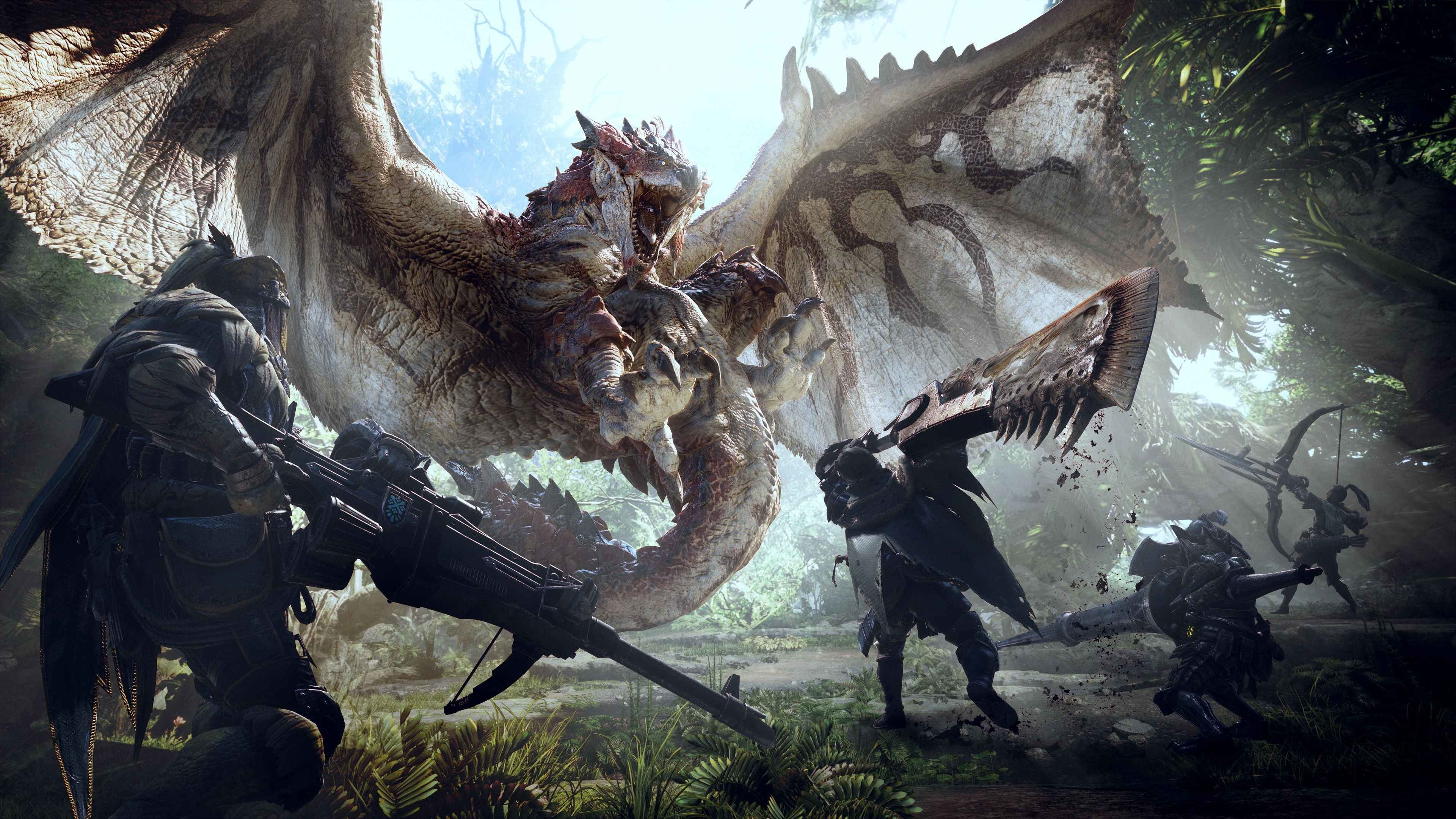 Monster Hunter World Test Kein Monster Port Aber Ein Monster Spiel