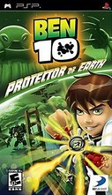 Cover zu Ben 10: Protector of Earth - PSP