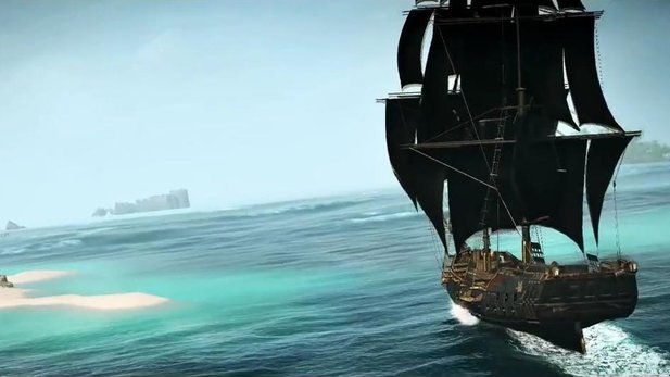 Assassin's Creed 4: Black Flag - Gameplay-Trailer mit positiven Pressestimmen