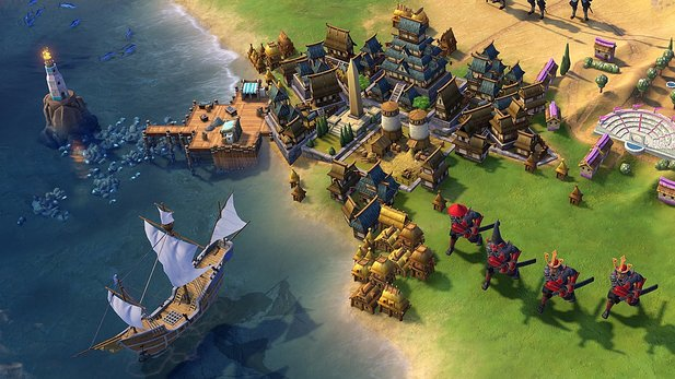 Civilization 6 im Test für Nintendo Switch.