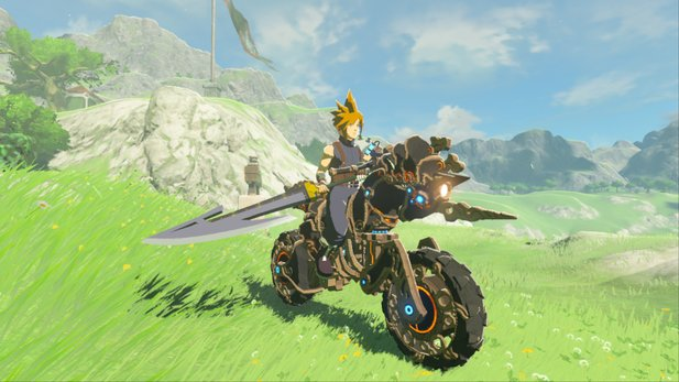 So sieht Cloud aus Final Fantasy als Zelda: Breath of the Wild-Mod aus.
