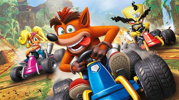 Wir haben Crash Team Racing Nitro-Fueled angespielt.