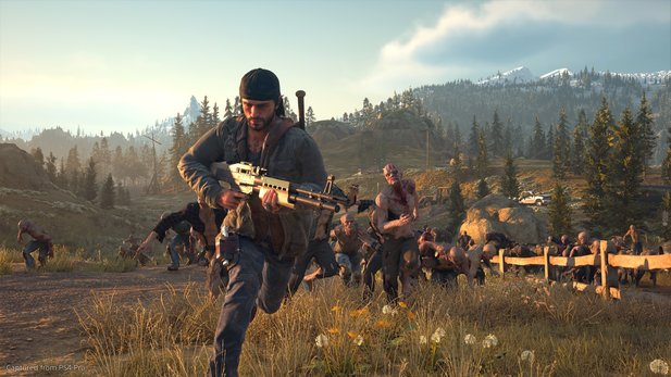 Days Gone - E3 2018-Gameplay zeigt Open World-Erkundung & Kampf gegen Zombie-Massen