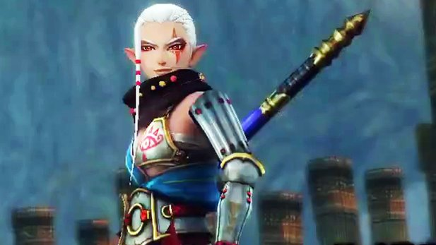 Hyrule Warriors - Gameplay-Trailer: Impa mit Speer bewaffnet