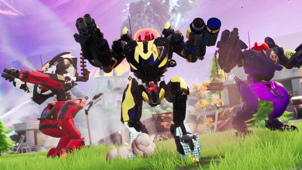 Mech Royale: In Fortnite Season X zerlegt ihr die Map mit Kampfrobotern