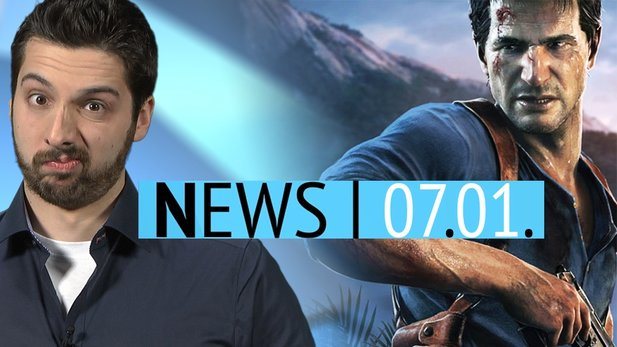 News - Mittwoch, 7. Januar 2015 - Uncharted 4 mit Multiplayer & Destiny-Addon geleakt