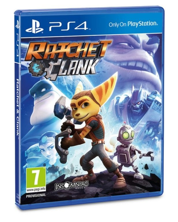 Ratchet & Clank - PS4-Box-Design