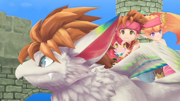 Secret of Mana Remake im Test für PS4.