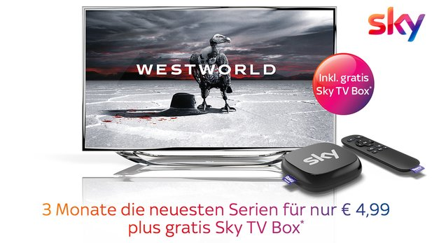 Sky Entertainment Ticket für einmalig 4,99 Euro.